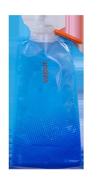 Foldable Water Bottle >> Vapur | Reusable Water Bottle | Flexible Water Bottle